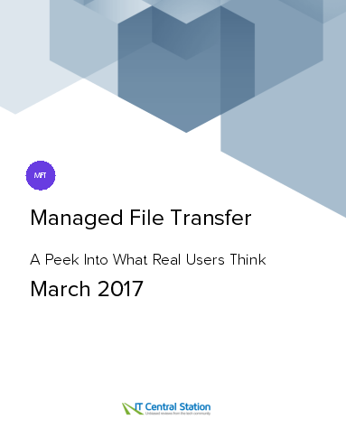 Managed file transfer report from it central station 2017 03 18