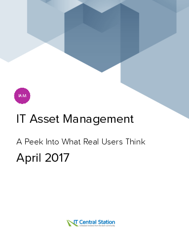 It asset management report from it central station 2017 04 22