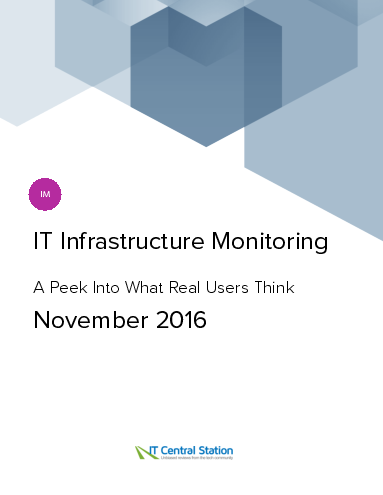 It infrastructure monitoring report from it central station 2016 11 19