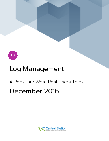 Log management report from it central station 2016 12 18