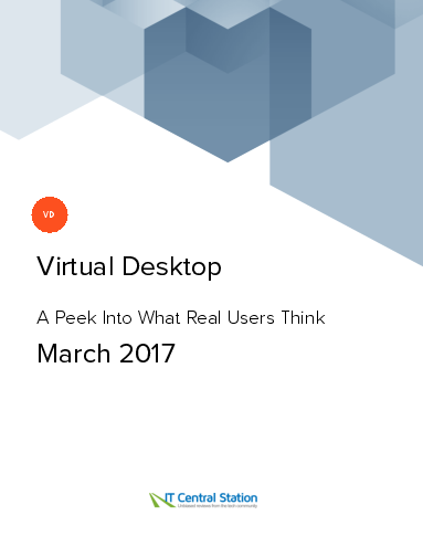 Virtual desktop report from it central station 2017 03 18