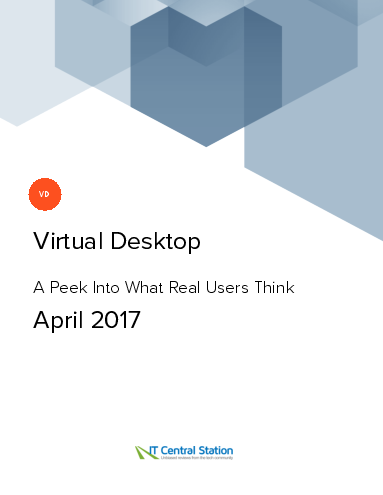 Virtual desktop report from it central station 2017 04 22