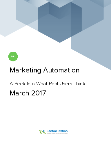 Marketing automation report from it central station 2017 03 18