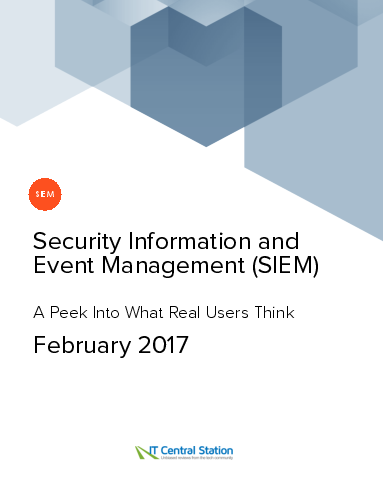 Security information and event management %28siem%29 report from it central station 2017 02 11