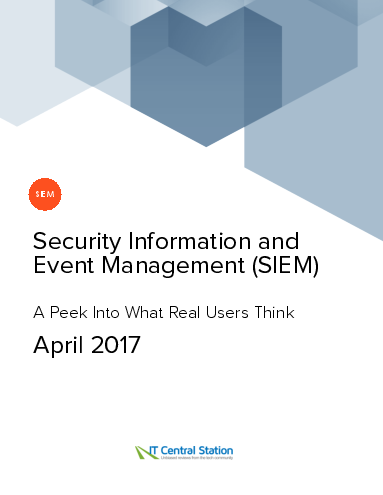 Security information and event management %28siem%29 report from it central station 2017 04 22