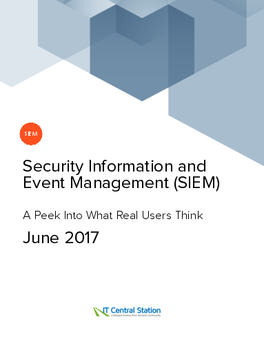 Security information and event management %28siem%29 report from it central station 2017 06 24