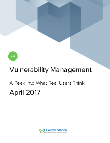 Vulnerability management report from it central station 2017 04 22