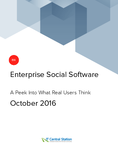 Enterprise social software report from it central station 2016 10 01