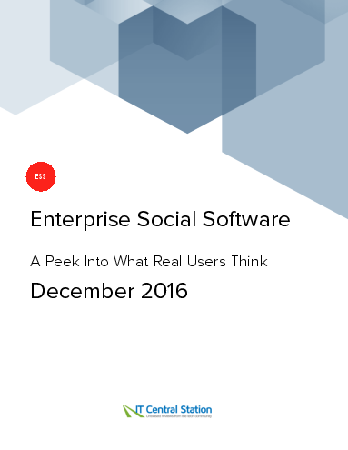 Enterprise social software report from it central station 2016 12 18