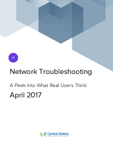 Network troubleshooting report from it central station 2017 04 01