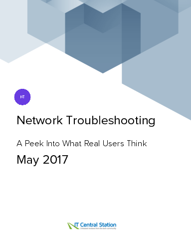 Network troubleshooting report from it central station 2017 05 13