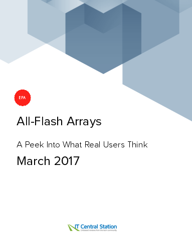 All flash arrays report from it central station 2017 03 18