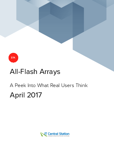 All flash arrays report from it central station 2017 04 08