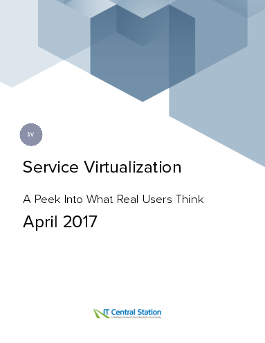 Service virtualization report from it central station 2017 04 29
