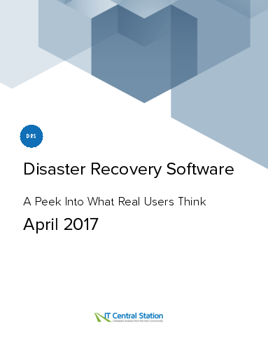 Disaster recovery software report from it central station 2017 04 29