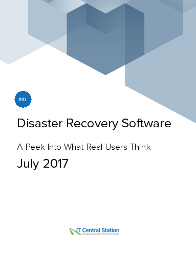 Disaster recovery software report from it central station 2017 07 08 thumbnail thumbnail