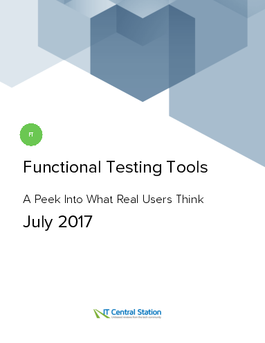 Functional testing tools report from it central station 2017 07 22 thumbnail