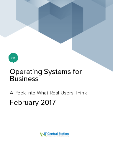 Operating systems for business report from it central station 2017 02 25