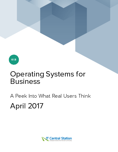 Operating systems for business report from it central station 2017 04 08