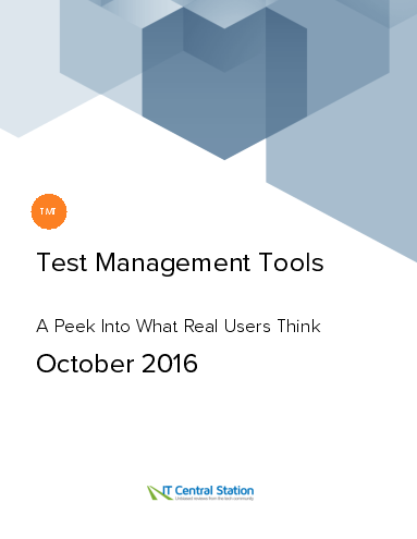 Test management tools report from it central station 2016 10 08