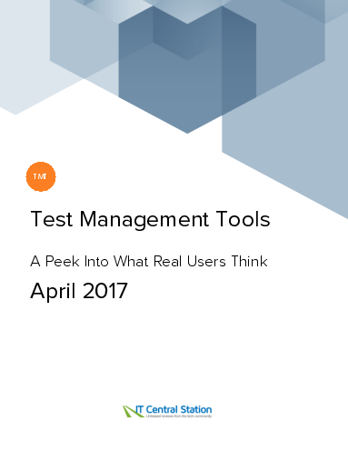 Test management tools report from it central station 2017 04 01