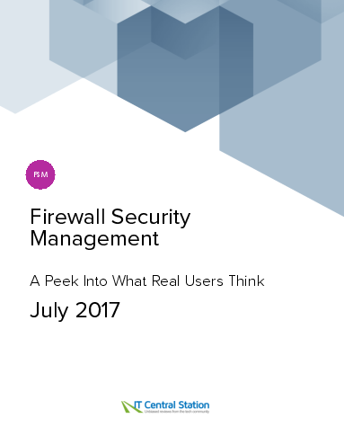 Firewall security management report from it central station 2017 07 25 thumbnail