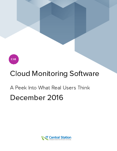 Cloud monitoring software report from it central station 2016 12 18