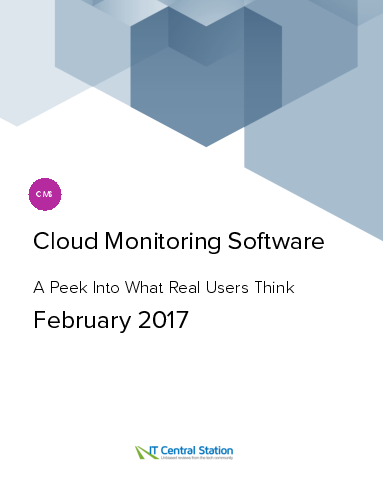 Cloud monitoring software report from it central station 2017 02 04