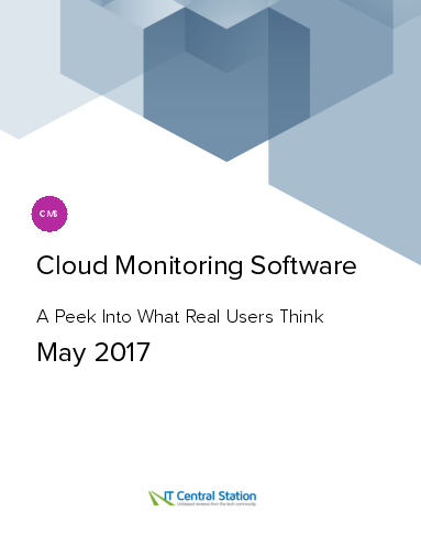 Cloud monitoring software report from it central station 2017 05 27