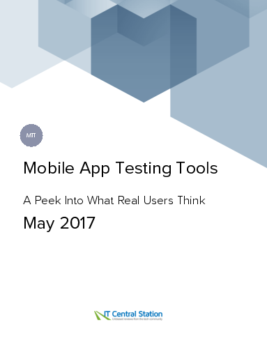 Mobile app testing tools report from it central station 2017 05 20