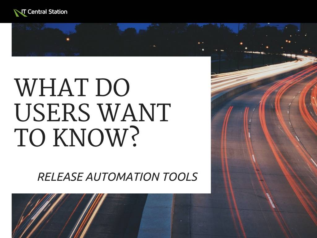Choosing a Release Automation Tool