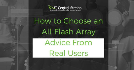 How to Choose an All-Flash Array