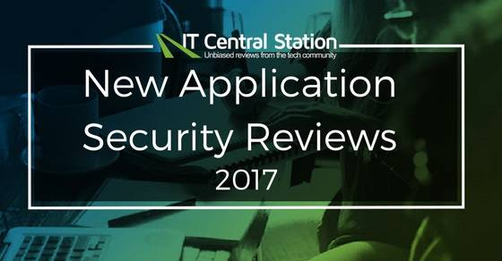 New Application Security Reviews 2017