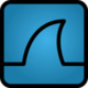 Wireshark icon reasonably small